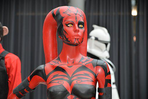 Comiccon, Star Wars, Darth Talon, Display Dummy