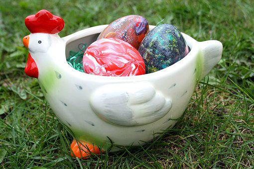 Easter, Easter Holidays, April, Easter Eggs, Chicken