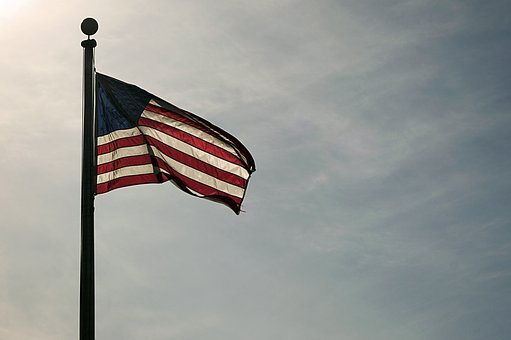 American Flag, Patriotic, Flag, American, National, Usa