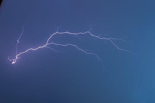 Flash, Energy, Thunder, Discharge, Flash Of Lightning