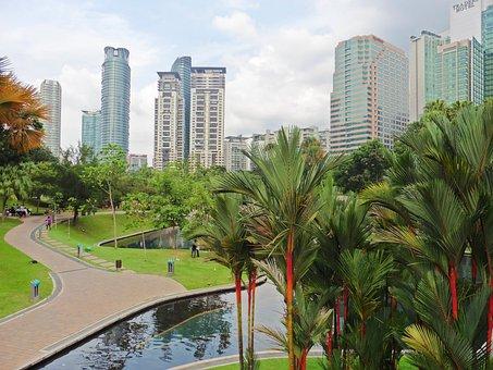 Kuala Lumpur, Malaysia, Asia, Park, City Center