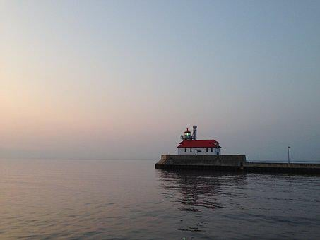 Duluth, Lighthouse, Light House, Minnesota