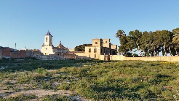 Castle Ros, Church, Balsicas, Murcia, Spain, Viscount