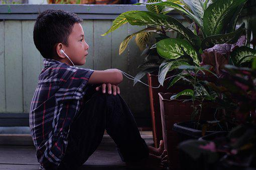 Kids, Listen, Sound, Nature, Plants, Woods, Rhyme