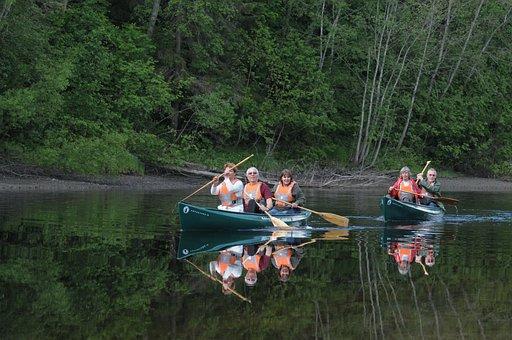 Canoe, Canoe Trip, Randselva, Holttangen, Ringerike