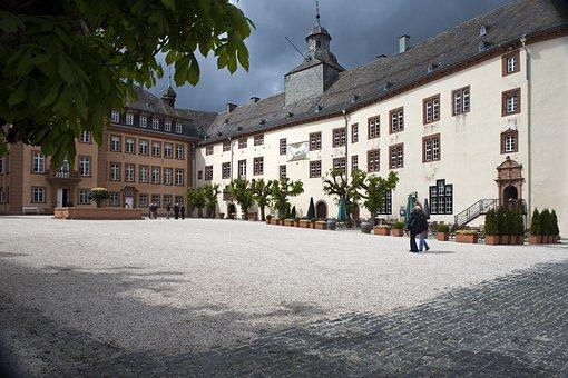 Schloss Bad Berleburg, Siegen-wittgenstein, Germany