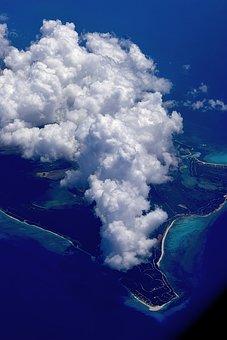 Island, Clouds, Sky, In The Sky, Above Island