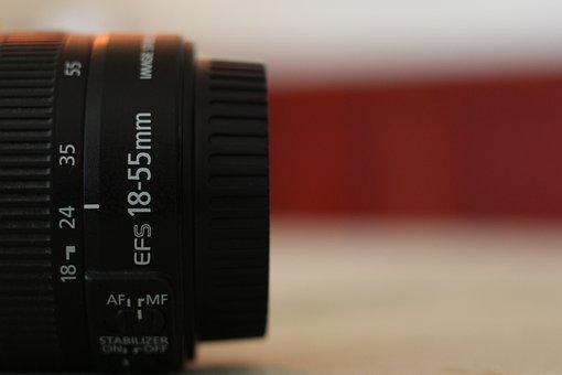Lens, Bokeh, Canon, 18-55mm, Kit, Style, Table, Modern