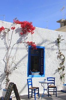 Greece, Garden Furniture, Chairs, Terrace
