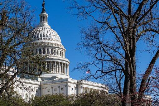 Us Capitol Building, Washington Dc, Po, Power