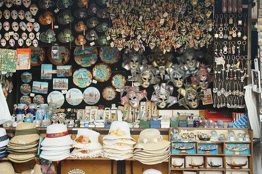 Tourism, Souvenir, Venice, Travel, Vacation, World