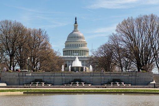 Us Capitol Building, Washington Dc, Power