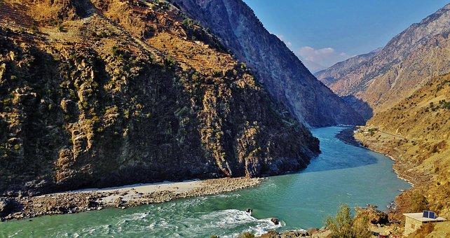 River, Glacier, Water, Natural, Adventure, Valley, Cold