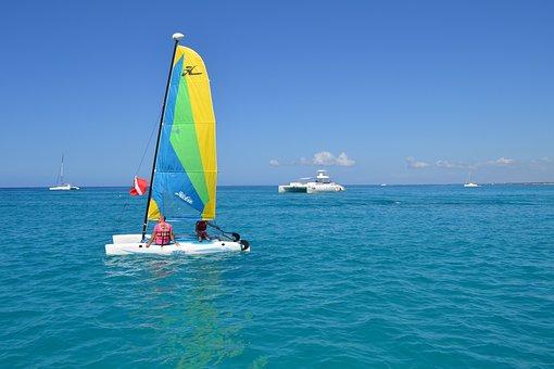 Sail, Sailboat, Yawl, Sea, Boat, Sailing, Vacation