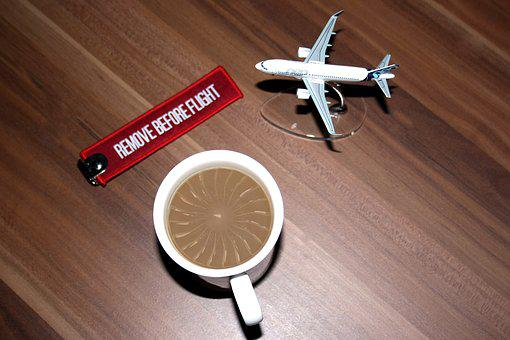 Aircraft, Coffee, Model, Model Airplane, Coffee Foam