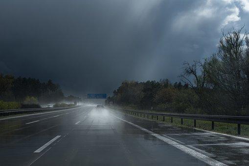 April Weather, The Sun And The Rain, Clouds, Rain, Sun