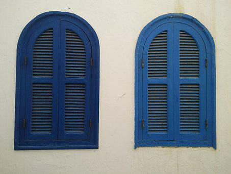 Window, Asilah, Morroco