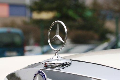 Mercedes, Star, Chrome, Auto, Mercedes Star, Oldtimer