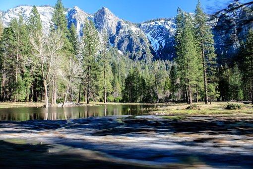Yosemite, Mountains, Nature, Landscape, California, Usa