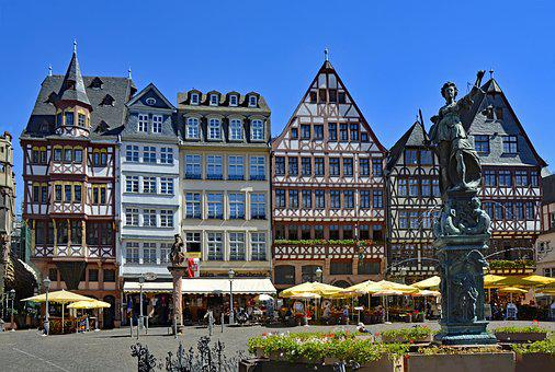 Frankfurt, Hesse, Germany, Saturday Mountain, Römerberg