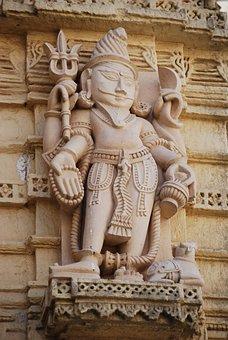 Statue, India, Hindu, Asia, Religion, Temple, Culture