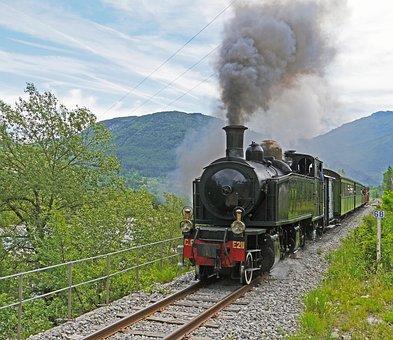 Steam Locomotive, Narrow Gauge, Nostalgia Ride