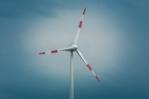 Pinwheel, Blue, Sky, Energy, Wind Power, Windräder