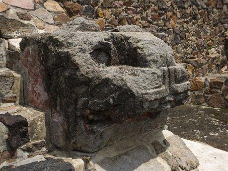 Ancient, Ruins, Stone, Archeology, Culture, Aztecs