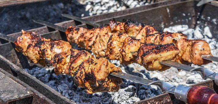 Barbecue, Grill, Meat, Bbq, Food, Cooking, Fire, Cook