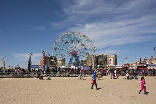 Coney Island, Beach, Brooklyn, New York City, City