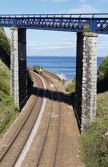 Teignmouth, Devon, Water, Coast, Sea, Beach, Sand