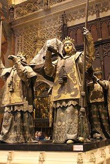 Bones Of Christopher Columbus, Seville, Church