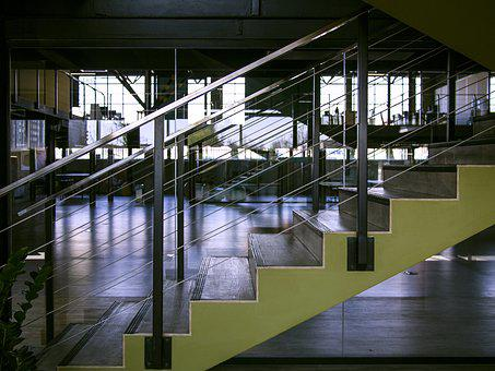 Europe, Tekwill, Office, Co-working, Space, Stairs