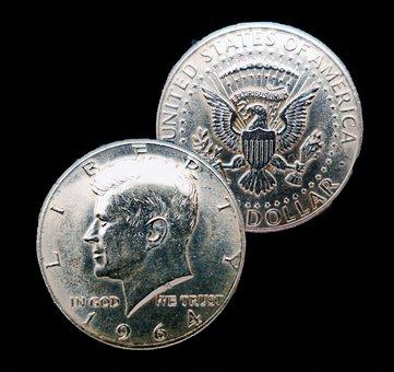 Dollar, Half Dollar, Kennedy Dollar, Historically, Usa