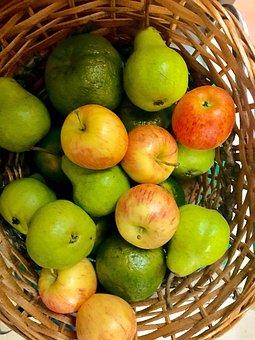 Basket Fruit, Fruit Wicker, Fruits Basket, Fruit