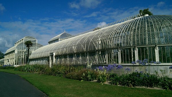 Greenhouses, Botanical Garden, Dublin, Ireland