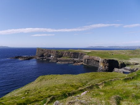 Scotland, Staffa, Island, Travel, Geology, Rock