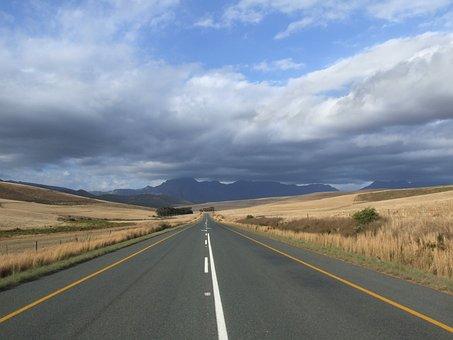 Road, Landscape, Wide, Roadway, Transport Connection