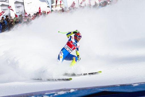 Ski Race, World Cup, Lauberhorn Race, Downhill Skiing