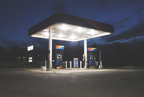 Gas Station, Gas, Station, Fuel, Gasoline, Oil, Pump