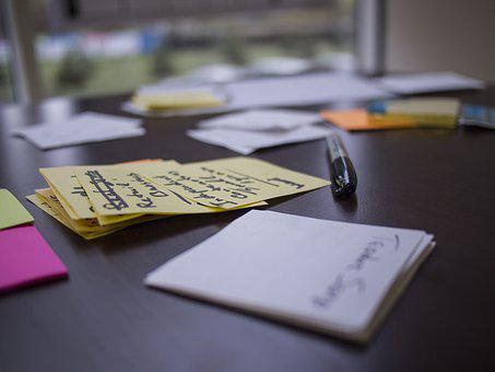 Lean Startup, Post-it, Workshop, Validation