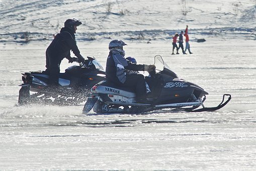 Snowmobile, Winter, Family Day, Recreation, Sport