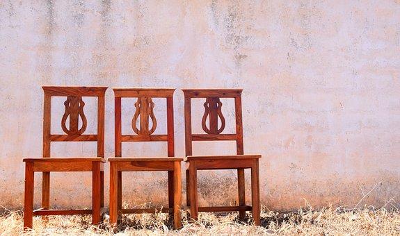 Chairs, Mediterranean, Seat, Wait, Place To Wait, Warm