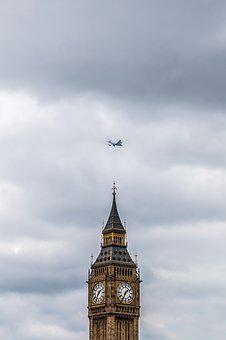 Big Ben, London, England, Elizabeth Tower, Westminster