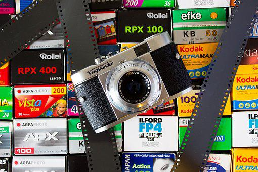 Camera, Analog, Analog Camera, Voigtlander, Film, Fuji