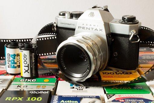 Analog, Camera, Film, Pentax, Old Camera, Photograph