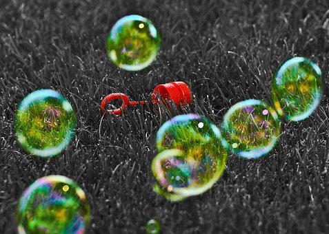 Soap Bubbles, Color Key, Ck, Editing, Red, Soap, Toys