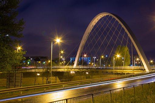 Bridge, Manchester, Hulme, Long Exposure, Cityscape