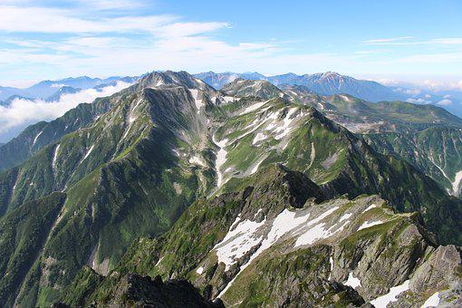 Tateyama, Toyama, Mountain Climbing, Northern Alps