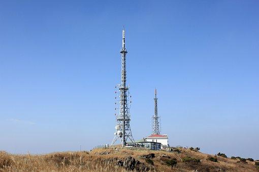 Korea, Guangzhou, Mudeungsan, Of Salary, Antenna, Sky